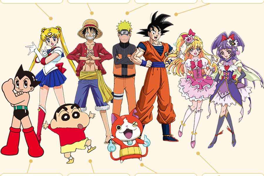 Goku, Naruto y Luffy: Los embajadores de los Juegos Olímpicos de Tokio 2020  - La Tercera