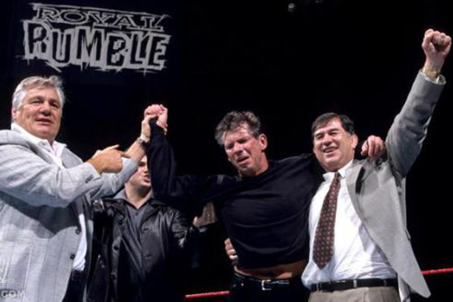 El día que Vince McMahon ganó el Royal Rumble - La Tercera