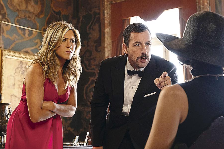 Misterio a Bordo: comedia de Sandler y Aniston bate récords en Netflix - La  Tercera