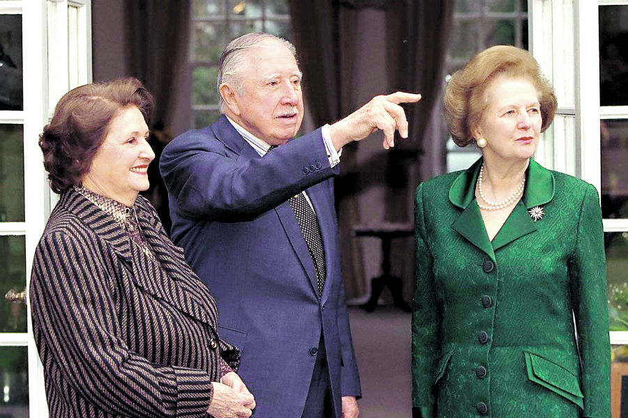 El Inicio De Los 503 Dias De Pinochet Detenido En Londres La Tercera