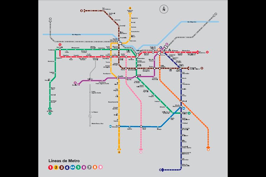 Linea tres del metro