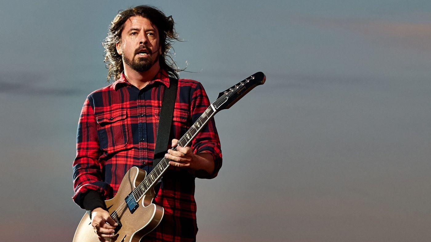 """Dave Grohl: """"Para mí el objetivo siempre ha sido hacer canciones que todos canten"""" - La Tercera"""